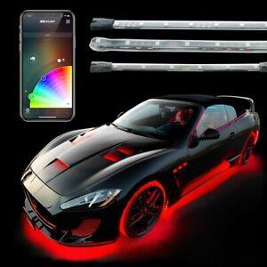 XKGlow KS-CAR-ADVANCE UNDERGLOW + INTERIOR XKchrome LED Accent Light Kit