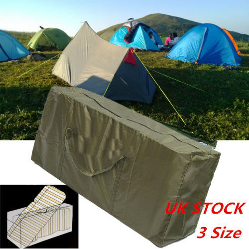 Water Resistant Garden Furniture Seat Cushion Pads Storage Cover Bag Protector L