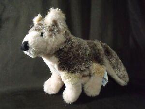 realistic-Red-Wolf-WishPets-2004-Plush-Stuffed-Animal-Toy-12-034-Wish-Pet