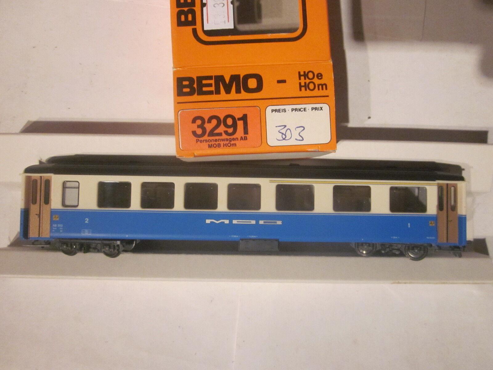 BEMO 3291 317 MOB a 107 facilmente carrello in metallo h0m NUOVO + OVP
