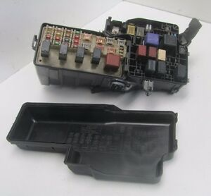 toyota corolla fuse box ebay km507207 02-06 toyota camry 4cyl under hood fuse and relay ...