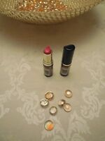 Lot Of Two Max Factor Lasting Color Lipstick - Smashing Red 741