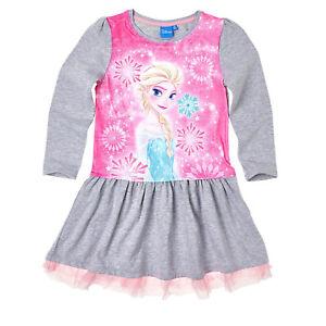 """140 Größen 98 110 128 104 122 Disney Frozen Kinder Kleid /""""Anna/"""" 116"""