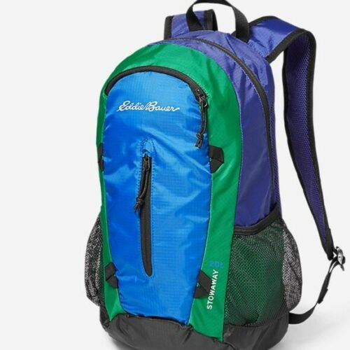 BRAND NEW WITH TAGS Eddie Bauer Stowaway 20L Backpacks