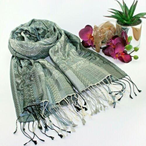 Womens grey silk scaf grey pashmina lxury grey silk scaf grey head scarf
