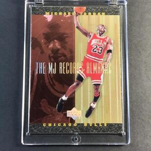 MICHAEL-JORDAN-1999-UPPER-DECK-HARDCOURT-J1-RECORDS-ALMANAC-FOIL-INSERT-NBA-MJ