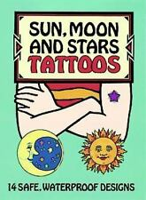 Dover Tattoos: Sun, Moon and Stars Tattoos by Anna Pomaska (1996, Paperback)