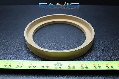 4 Pair 6.5 MDF Speaker Ring Recess with Bezel Mounting Spacer Ring-6.5BZ
