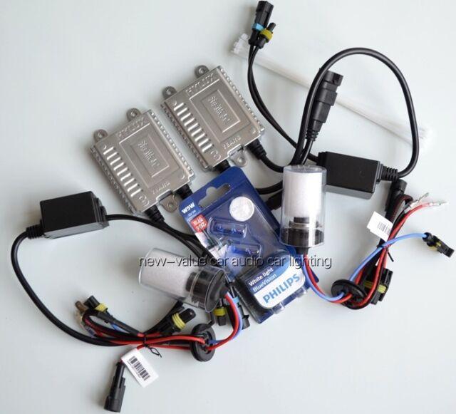 12/24V H7 4300K Germany ASIC chip HYLUX SLIM Xenon HID kit + PHILIPS T10