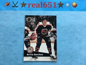 1991-Pro-Set-KEVIN-HATCHER-Misprint-Wrong-Back-108-Dave-Gagner-Scarce-UER