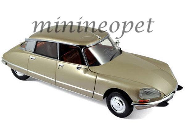 NOREV 181581 1973 73 CITROEN DS 23 Pallas 1 18 Diecast voiture modèle Beige