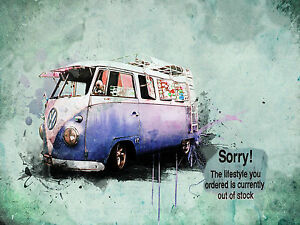 VW-CAMPER-VAN-CANVAS-banksy-graffiti-sorry-picture-20-034-x30-034-stretched-over-frame