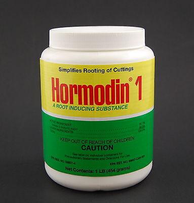 Hormodin #1 Rooting Hormone Powder- 1 lb 0.1% IBA- Root Stimulant Propagation