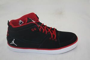 7fe0268fa19 MEN'S JORDAN FLIGHT 23 AC 524390-001 BLACK/GYM RED-WHITE MSRP $90.00 ...