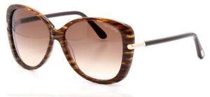 dd4e5e26eab Tom Ford Linda FT0324 Sunglasses-50F Brown Striped (Brown Gradient ...