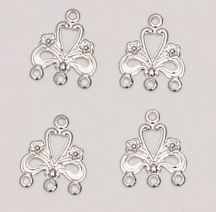 100X ancient silver retro letter Rx pendant alloy jewelry accessorie 8*14mm diy