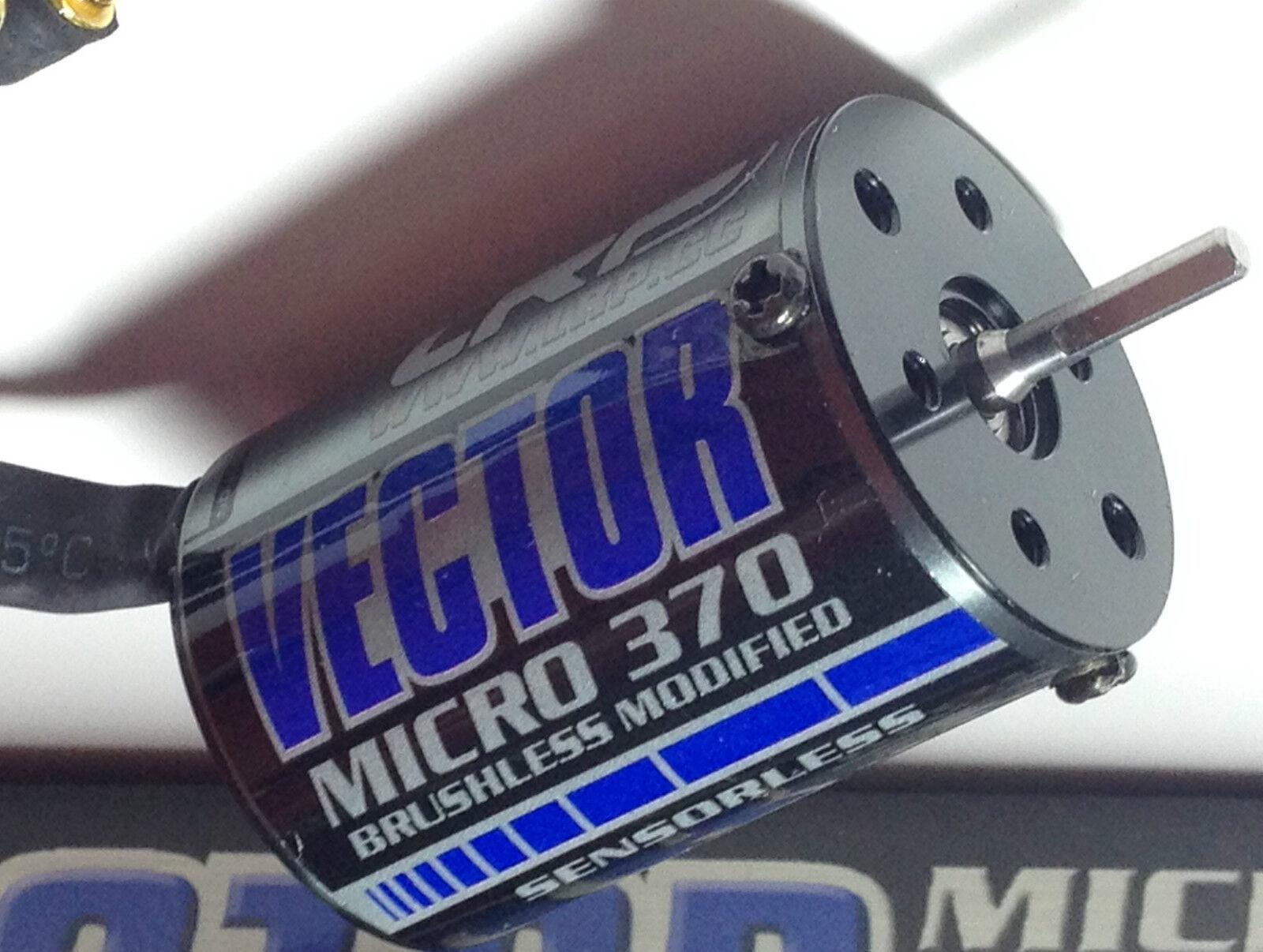 LRP 50250  Vector 7t BRUSHLESS Modified 370 egli MICRO MOTORE RPM Multi mounting  profitto zero