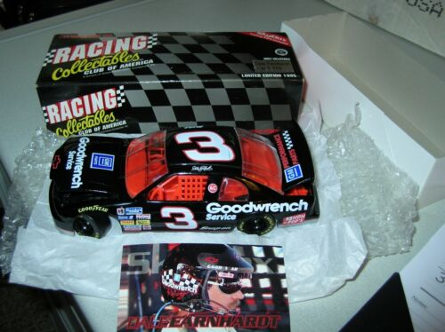 Orig 1995 Dale Earnhardt 3 Black GM PARTS NASCAR DIECAST RCCA Goodwrench skybox