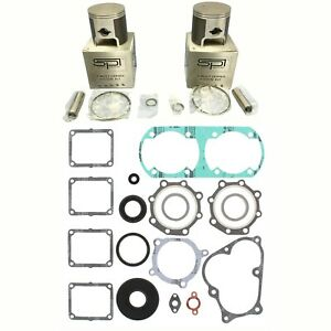 Yamaha-480-Spi-Piston-Kits-Winderosa-Complet-Joint-Set-Joints-Huile-1991-1999-Pz