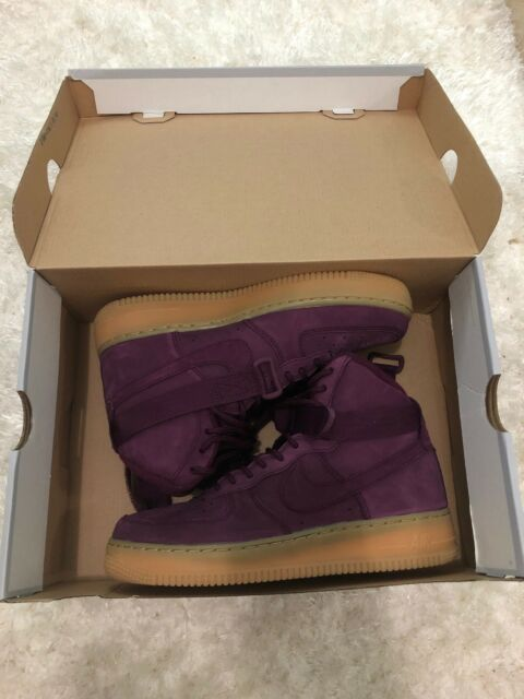 Nike Air Force 1 High WB GS Bordeaux 922066 600 Mens size 6Y Womens 7.5Y NEW
