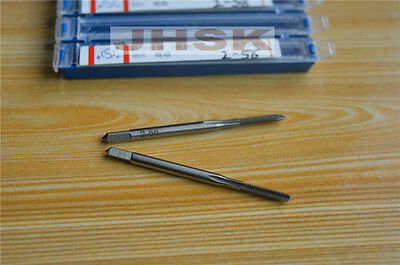 2pcs  HSS Right Hand Tap 2#-56 Taps Threading 2-56  High-quality