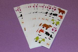 CHUBBY BABY TOYS  ....... 2 Strips Mrs Grossman .. 2006 Stickers