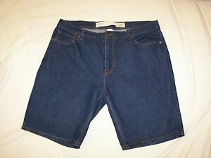 Men-039-s-Natural-Threads-Denim-Shorts-Size-36