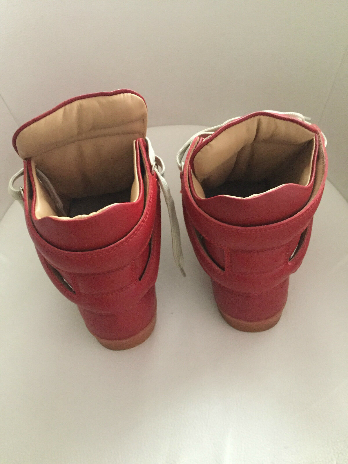 Original Maison Martin Margiela at H&M High EUR Top Sneakers in Rot EUR High 41 size US 8 5e8f83
