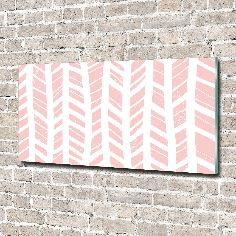 Acrylglas-Bild Wandbilder Druck 140x70 Deko Sonstige Fischgrätenmuster