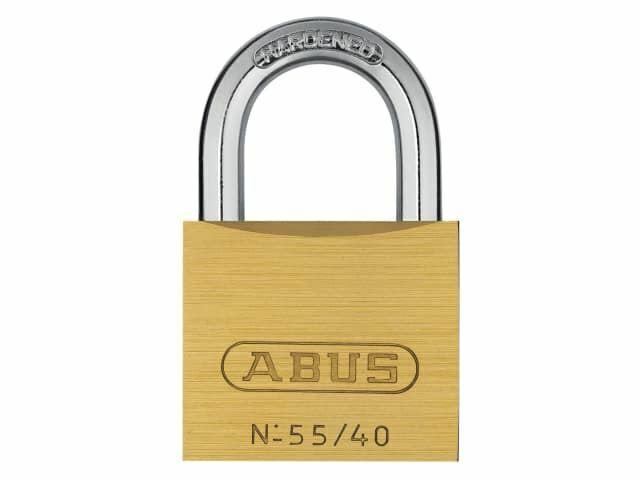 ABUS Mechanical - Candado de latón de 55/40 mm con llave similar 5402