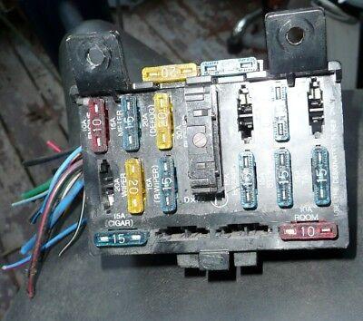 Ford Aspire Fuse Box Inside the Car Left Side Of The Lower Dashboard | eBayeBay