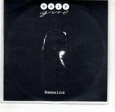 (GR121) Only Girl, Remains - 2015 DJ CD