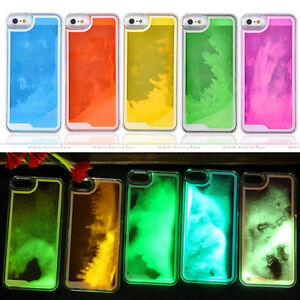 iphone 5s glow in the dark case glow in the luminous liquid cover for 20486