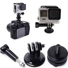"Hot Shoe Adaptor + 1/4"" Tripod Mount Converter for GoPro Hero 3+ 4 5 DSLR Camera"