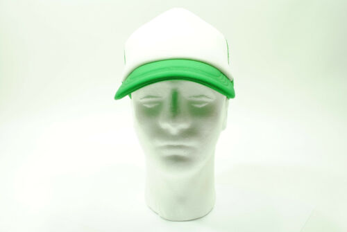 Trucker Mesh Cap//Hat Baseball Old School Vintage Classic Green//White