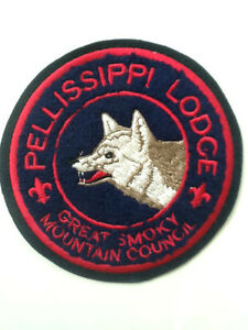 Pellissippi Lodge 230 C-1 Chenille Jacket Patch