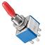 Kippschalter-Miniatur-2-x-EIN-EIN-6-Pins-Metallhebel-mit-Loetoesen-blau-rot Indexbild 3