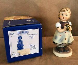 For-Mother-Goebel-Hummel-257-Figurine-Girl-vintage-flower-bouquet-1963-bee-box