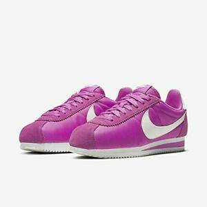 Nike-Classic-Cortez-UK-Size-5-Women-039-s-Trainers-Pink-White-Shoes