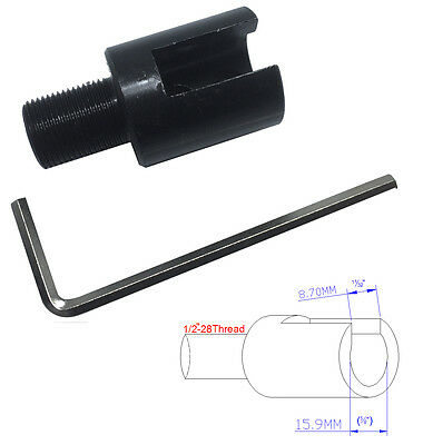 Threaded Barrel End for 5/8 inch Threaded barrels - 1/2-28 TPI