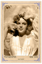 Hollywood Legend JUDY GARLAND Vintage Photograph A++ Reprint Cabinet Card CDV