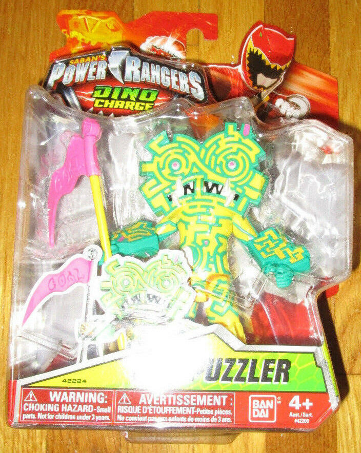 POWER RANGERS DINO CHARGE VILLAIN PUZZLER figure 42224