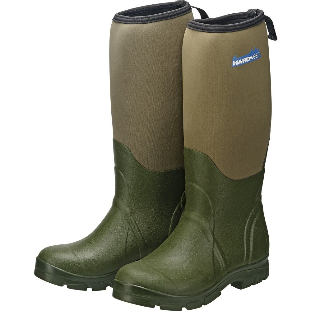 Hardwear NEW Neoprene Boots 100% Waterproof Wellingtons Sizes 7-12 RRP ú49.99