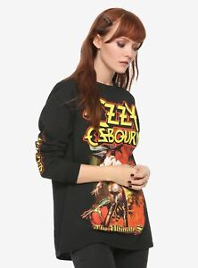 Ozzy-Osbourne-The-Ultimate-Sin-Long-Sleeve-T-Shirt-Black-Top-Fashion-NWT
