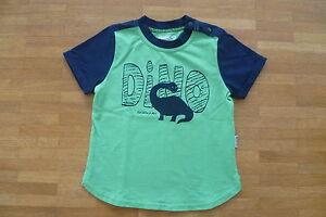 Jako-o-Baby-T-Shirt-Dino-Groesse-80-86-wie-NEU-gruen-mit-Dinosaurier