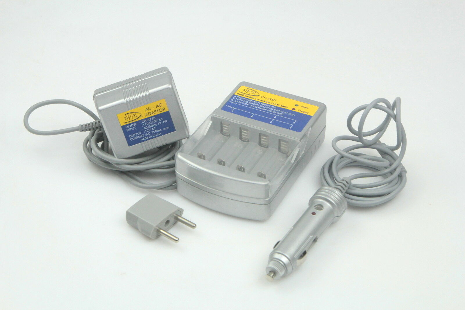 DIGITAL CONCEPTS CH-3950 RAPID CHARGER For NI-MH/NI-CD BATTERIES