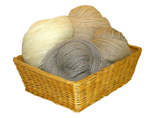 GRUNDPEIS-25€//Kg Garn Wolle Strickgarn Schafwolle 100/% Natur Schurwolle