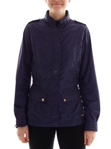 Giacca a Summer Zipper Cmp Jacket Coat Blau Hooded vento Trench BqAxE1
