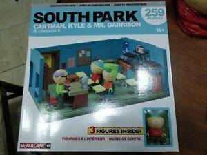McFarlane-Construction-Set-South-Park-Mr-Garrison-Kyle-amp-Cartman-Classroom