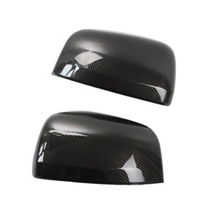 Carbon Fiber Side Mirror Cover Replacement For Jeep Grand Cherokee